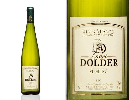 Riesling Vins et Cremant d'Alsace André Dolder
