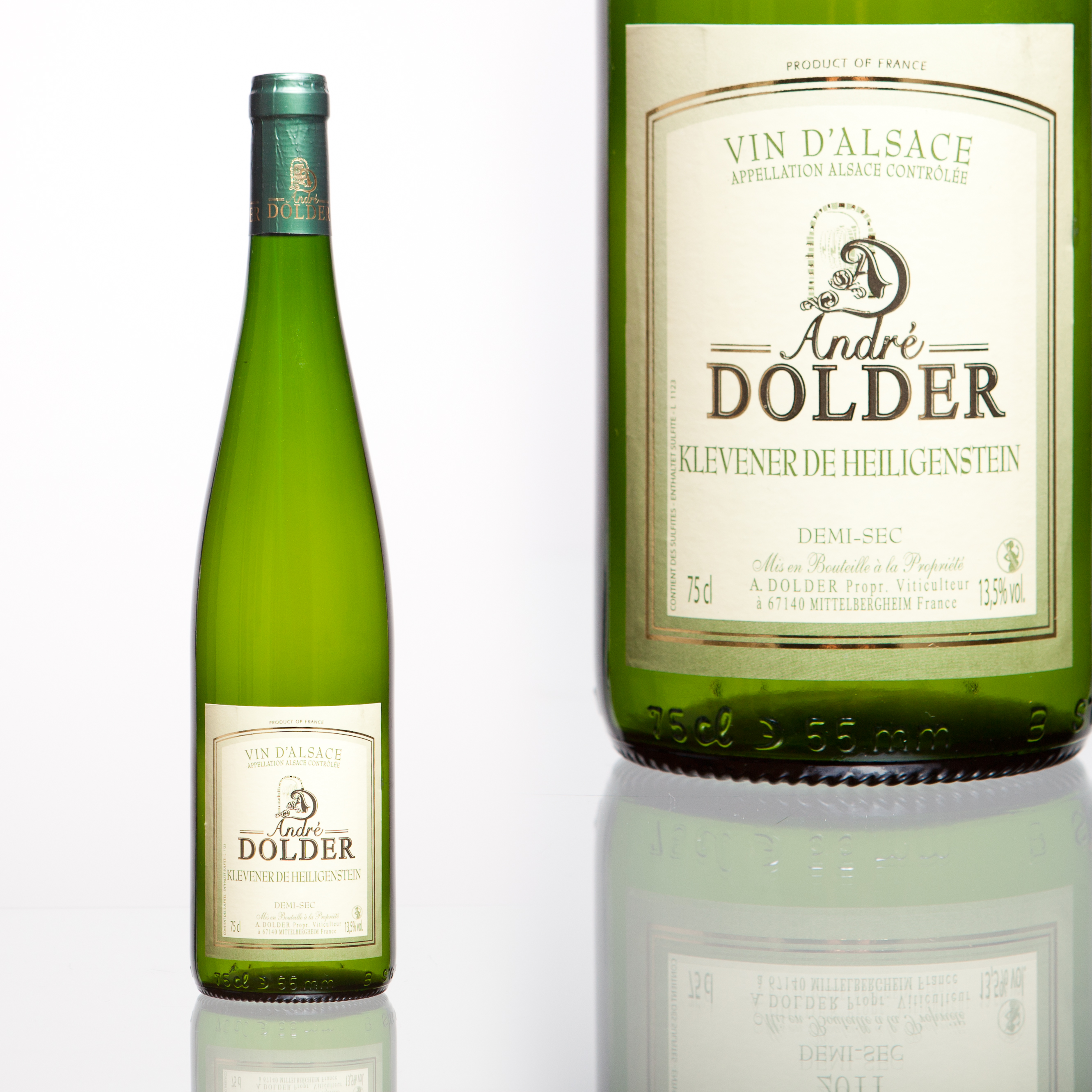 Klevener de Heiligenstein Vins et Crémant d'Alsace André Dolder