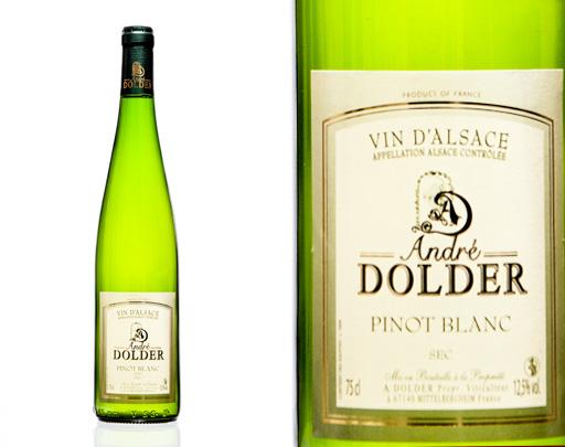 Pinot Blanc Vins et Crémant d'Alsace André Dolder