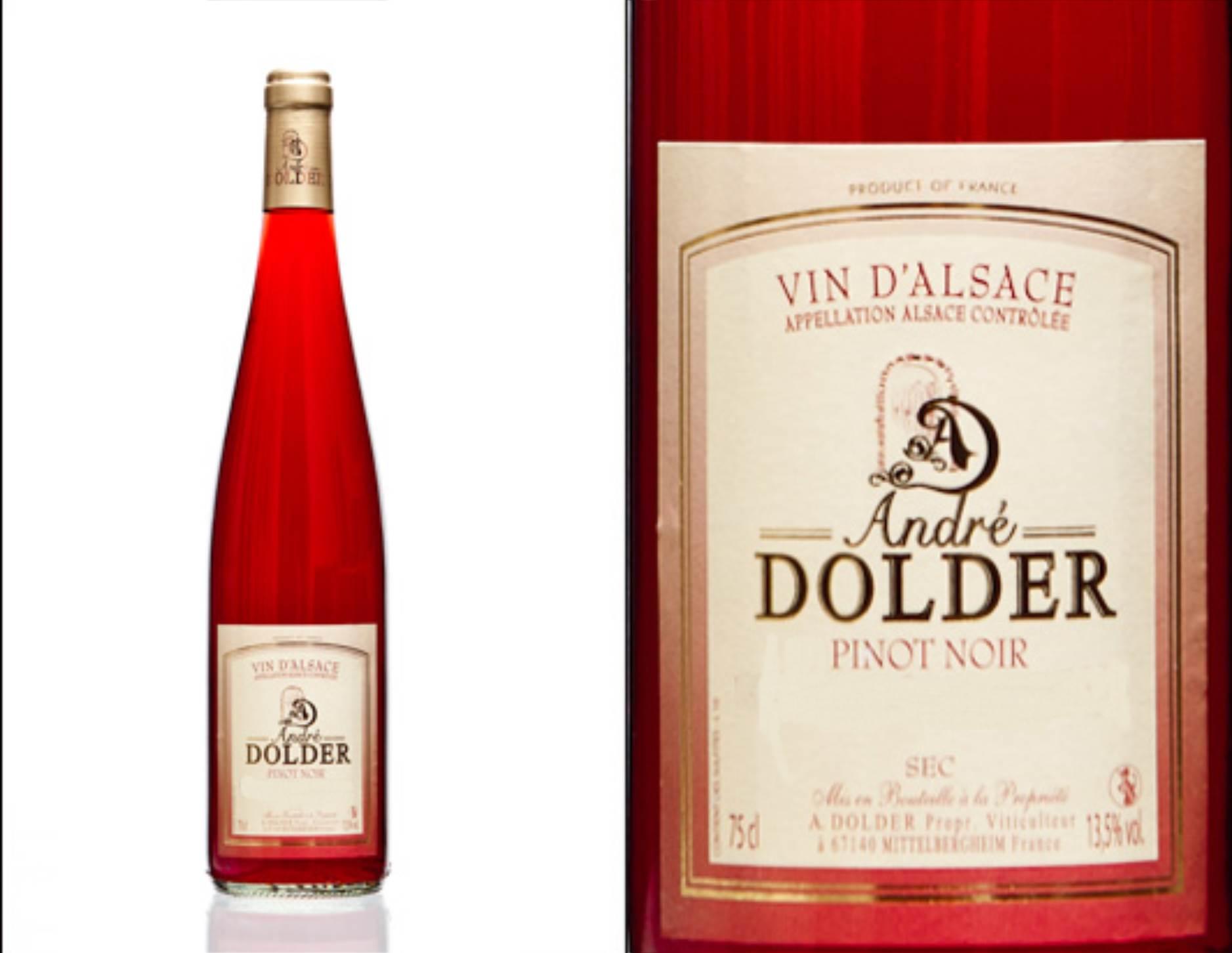 Pinot Noir Vins et Crémant d'Alsace André Dolder