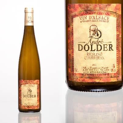 Riesling Cuvée Jean Vins et Crémant d'Alsace André Dolder