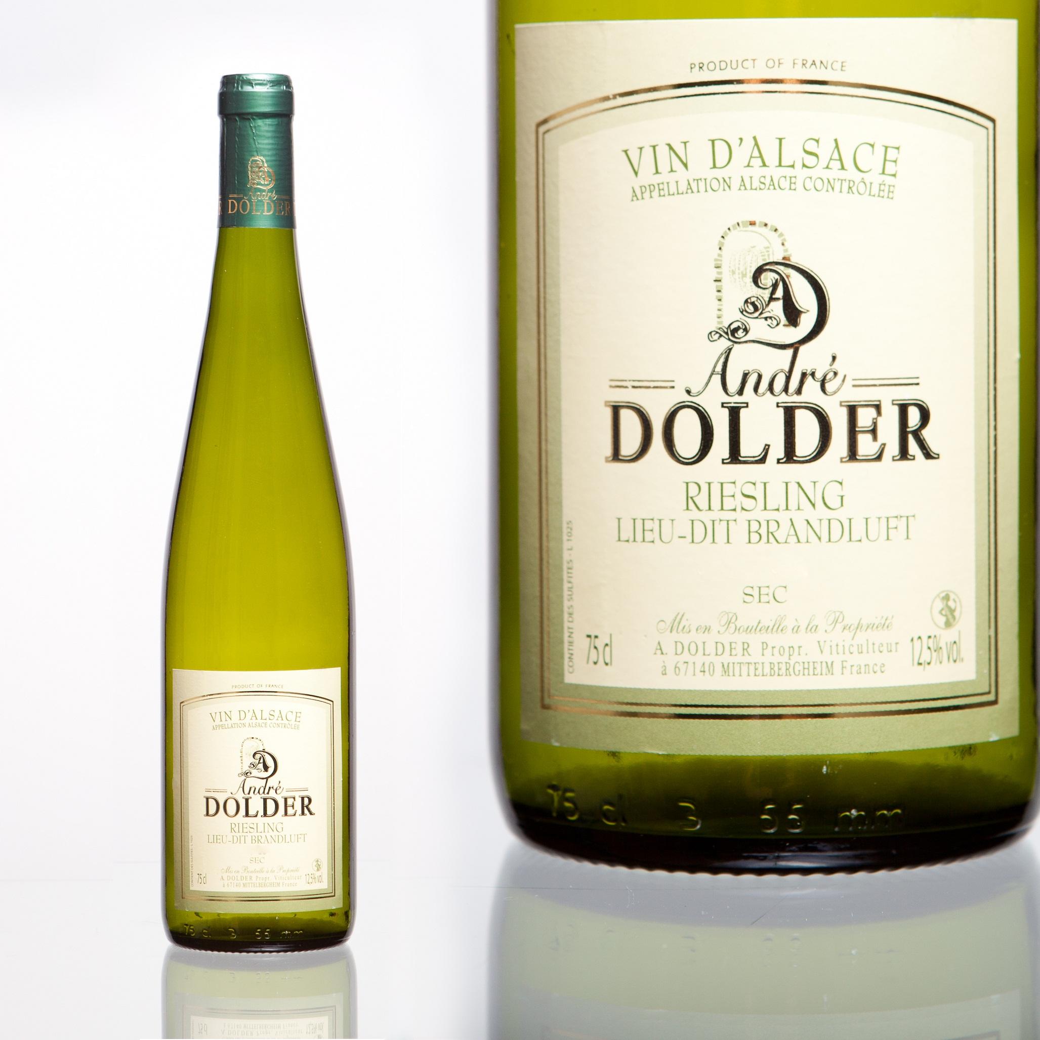 Riesling Brandluft vins et cremant d'Alsace André Dodler